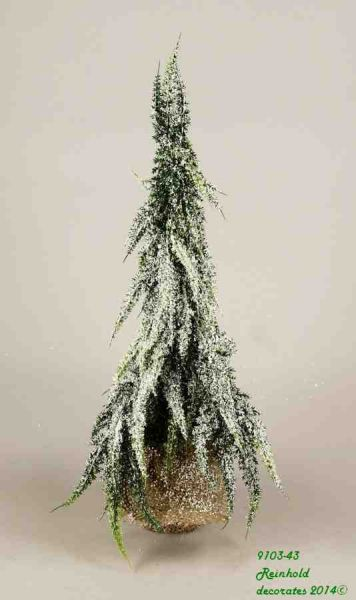 FIR TREE in jute<br>sack, Dim = 41 cm