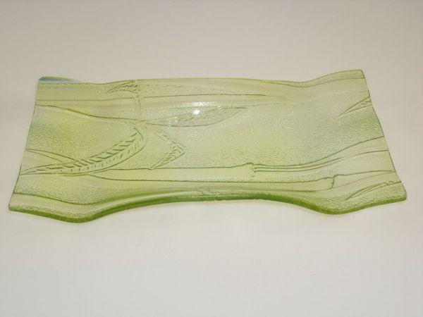 Glass bowl, 23,5X12,5 cm