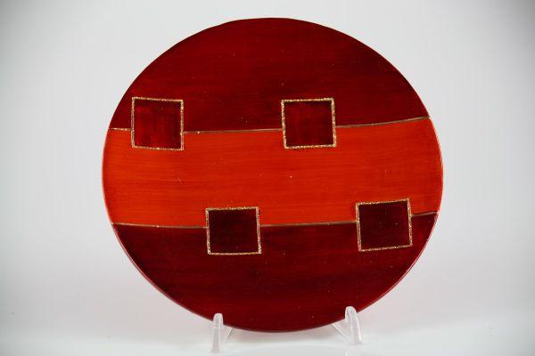 Plates / ceramic, 25cm