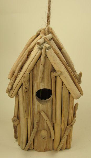 BIRD HOUSE / WOOD,<br> Dim. = 28x17x17<br>cm, zH