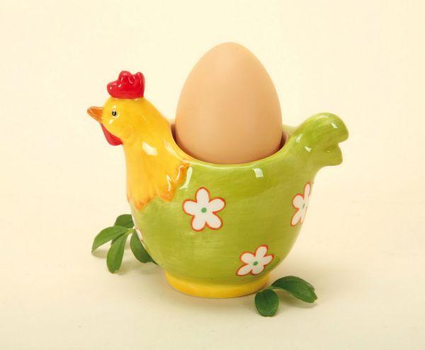 PORCELAIN EGG CUP, 11 cm