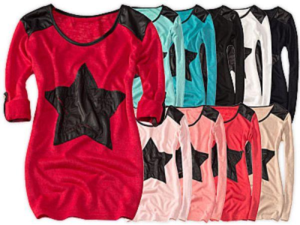 STAR BLÚZ bőr szín
