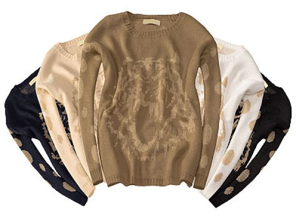 TIGER PRINT<br>SWEATER THREAD