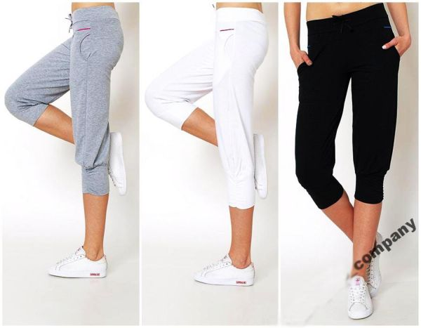 Shorts comfortable<br>cropped sweatpants