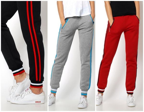 OCIEPLANE thick<br>tracksuit trousers