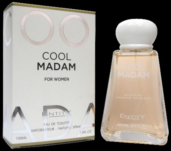 Entity Cool Madam<br> EDT 100ml perfume<br>for women