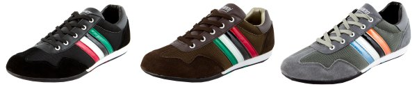 LUVANNI Men<br> Sneaker casual<br>shoe with leather