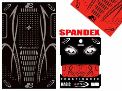 NECK BAND SPANDEX SCARF