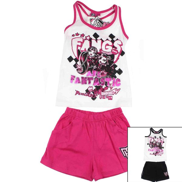 Tank top with<br>shorts Monster High.