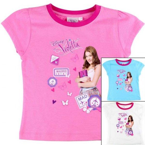 Großhandel T-shirt<br>Violetta.