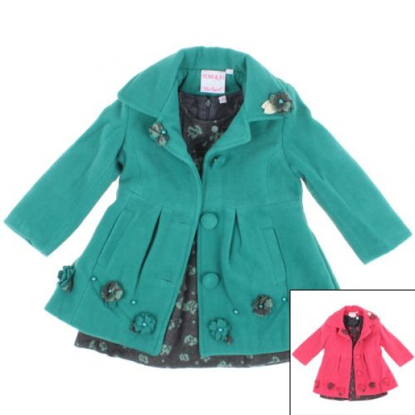 - 30% - coat with<br>a dress and sweater