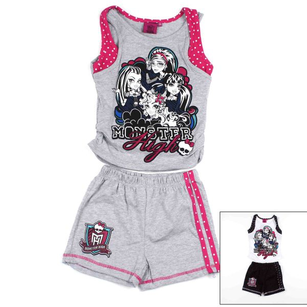 Tank top és rövidnadrág  Monster High .
