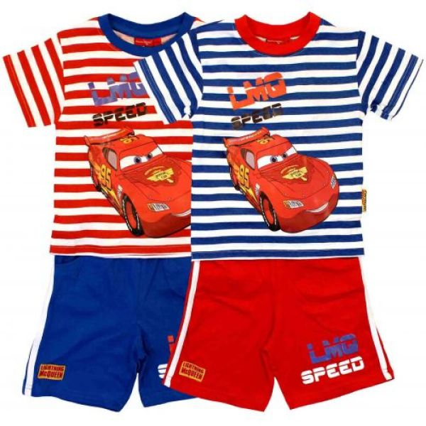 "T-shirt and shorts ""Cars""."