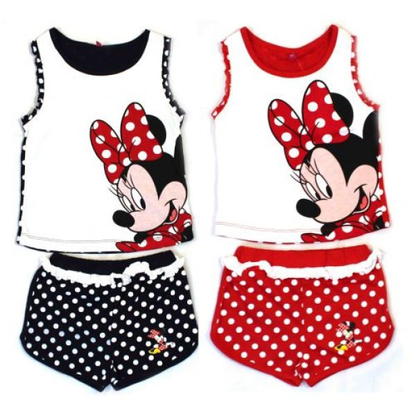 "T-Shirt und Shorts ""Minnie""."