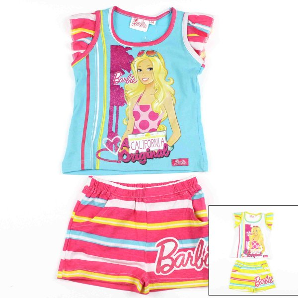 T-Shirt und Shorts<br> Barbie .