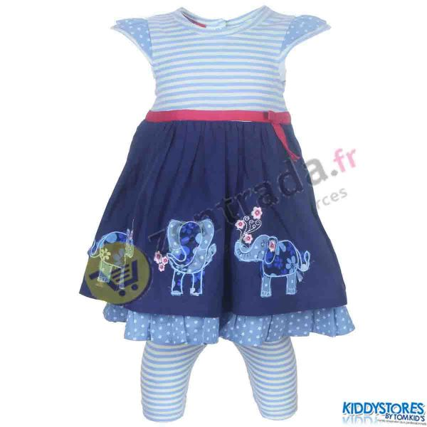 Dress with a baby<br>leggings.