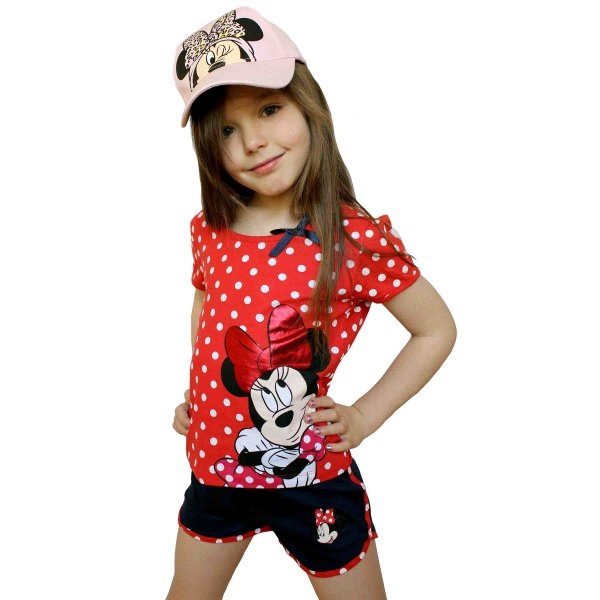 T-shirt and shorts  Minnie .