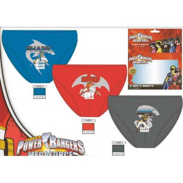 Transmission<br> Provider panties 3<br>Power Rangers