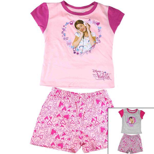T-Shirt mit Shorts<br>Violetta.