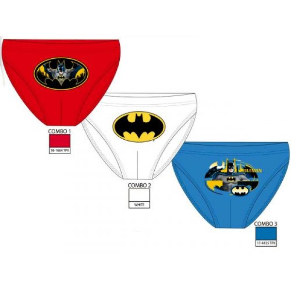 Wholesale Lot of 3<br>Batman Panties