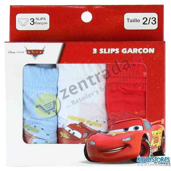 Box von 3 Höschen Cars.