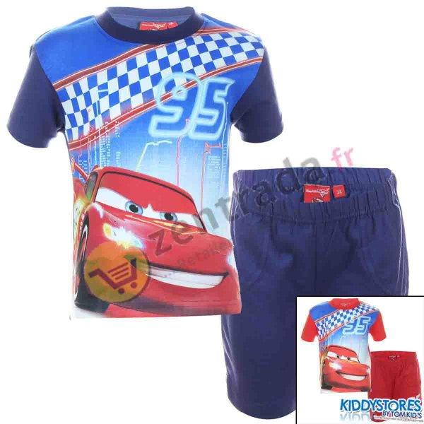 Cars , T-shirt i<br> szorty chłopiec<br>Disney.