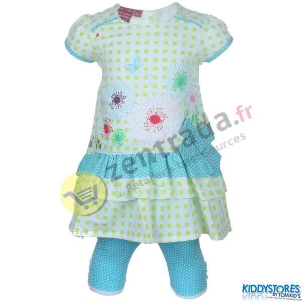 Kleid mit Leggings<br>für Mädchen Babys.