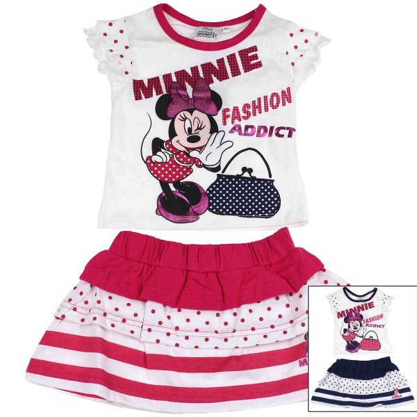 T-shirt and skirt  Minnie .