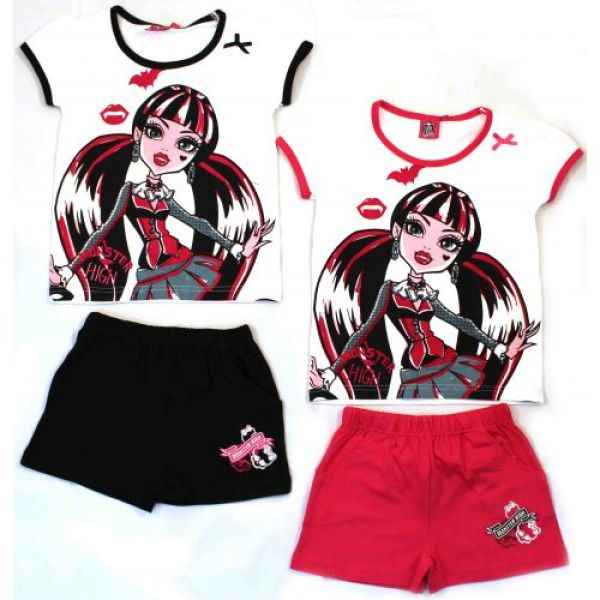 T-shirt et short<br> Monster High .