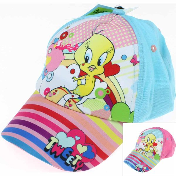 Cap with a visor<br>girl Tweety.