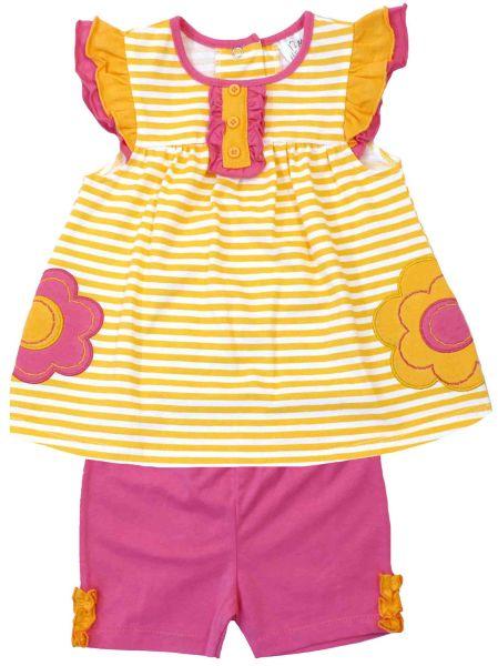 Dress and leggings<br> Tom Kids .