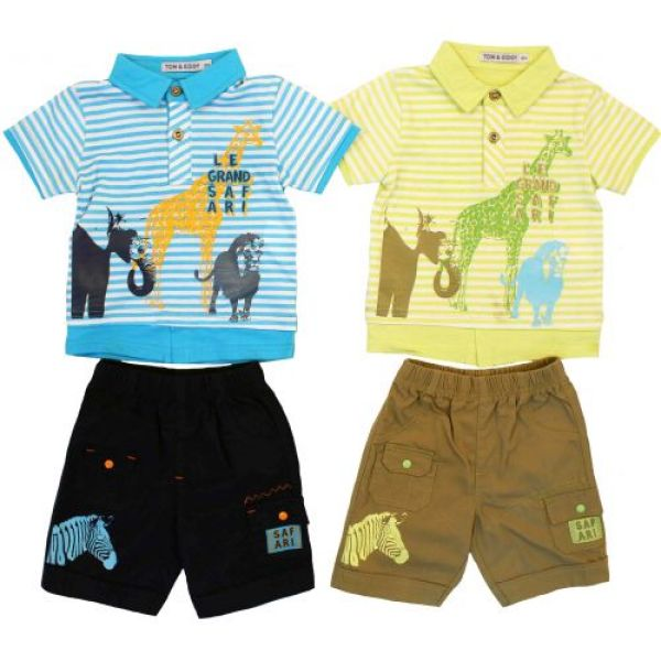 Polo et bermuda  Tom Kids .