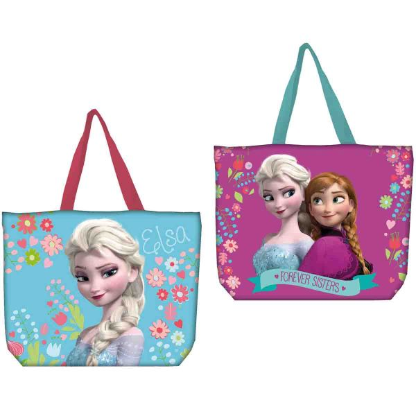 Disney Girl Beach<br>Bag Frozen.