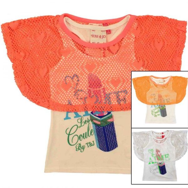 Manufacturer<br> T-shirt fantasy<br>girl child.