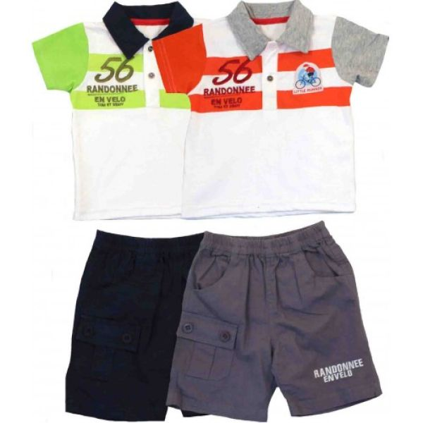 Polo et bermuda<br> Tom Kids .