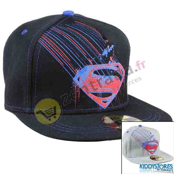 Cap with a visor<br>boy Superman.