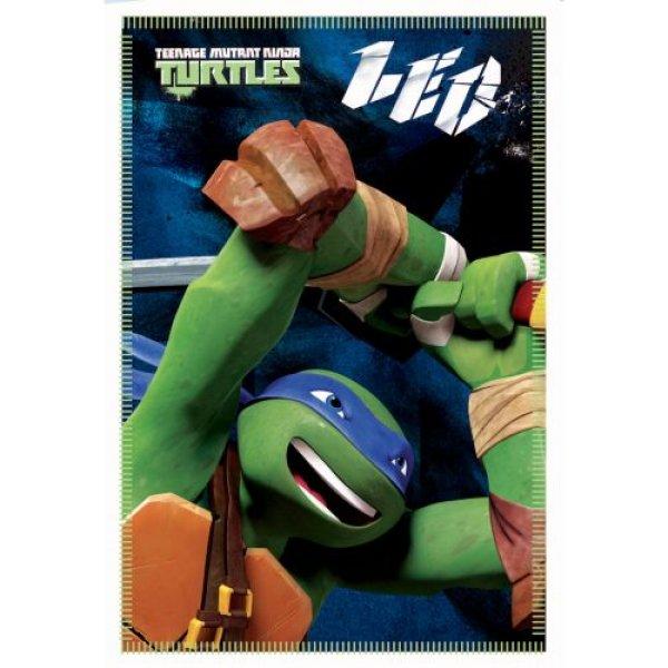 Bettdecken Polar<br>Ninja Turtle