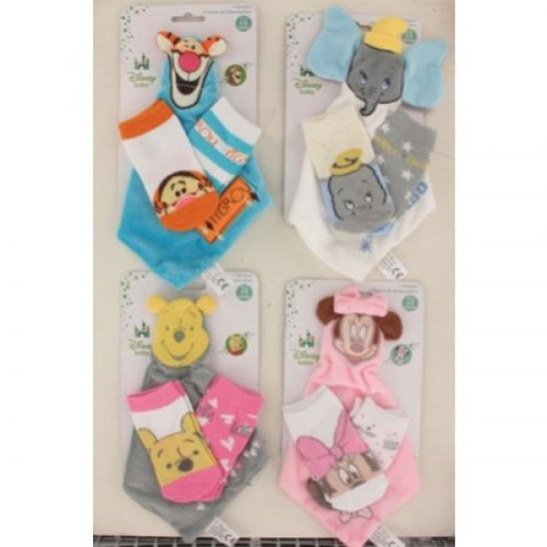 Doudou with 2<br> pairs of socks<br>Disney