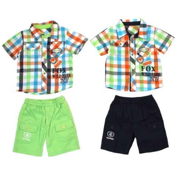 "Shirt and bermuda ""Tom Kids""."