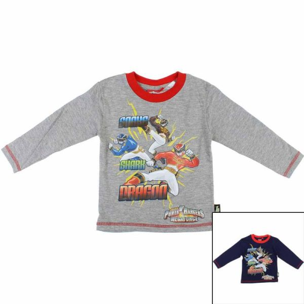 Power Rangers<br> T-shirt with long<br>sleeves.