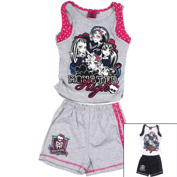 Wholesale Tank and<br>Shorts Monster High.