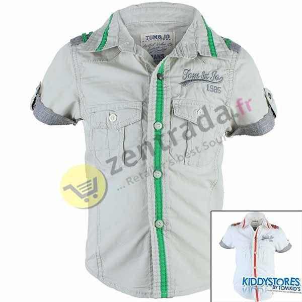 Distributeur<br>jongen overhemd