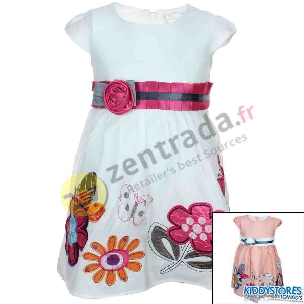 Supplier dress<br>with flowers.