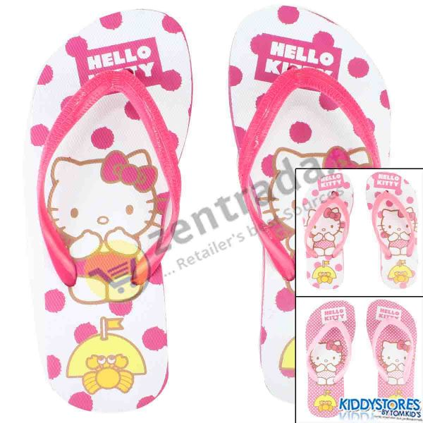Hello Kitty girl<br>beach shoes.
