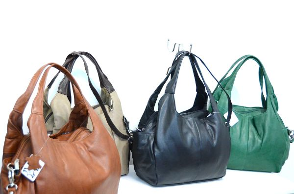 Genuine leather<br> bag,<br> Shopingtasche, ...