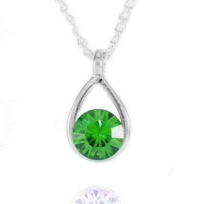 Swarovski Elements<br> crystal necklace<br>MOMENT