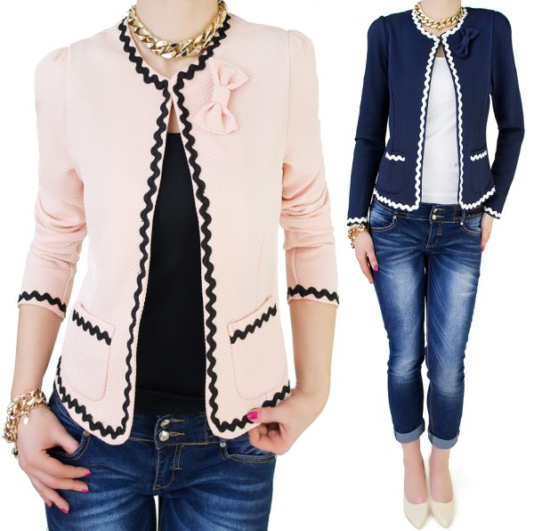 LOVELY JACKET,<br>CHANELKA WITH BOW