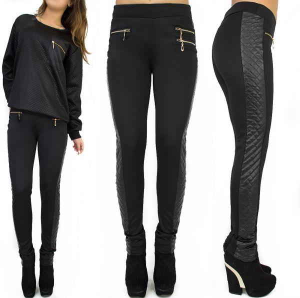 LADIES PANTS,<br> Leggings, leggins,<br>quilted INSERTS