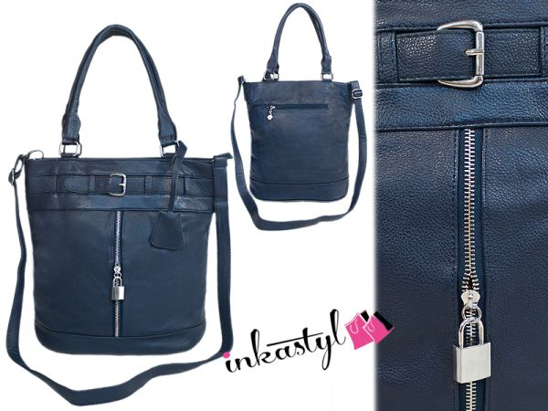 HIGH FASHION BAG<br> SILVER LOCK<br>PADLOCK, MI