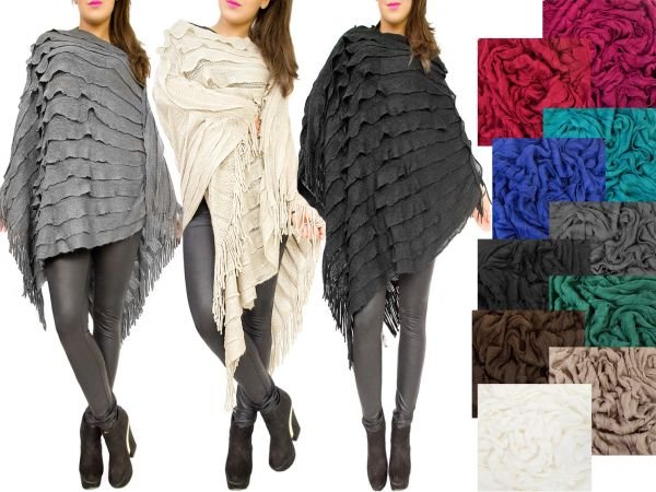 LOOSE cape<br>OVERSIZE PONCHO